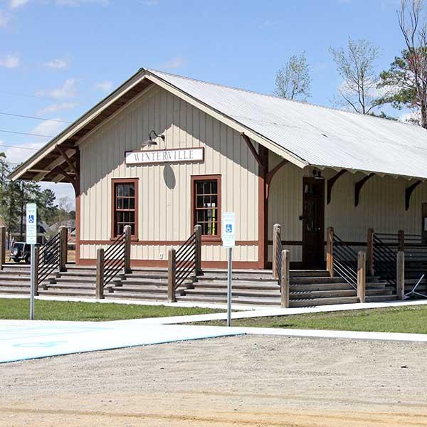 Winterville Depot Restoration